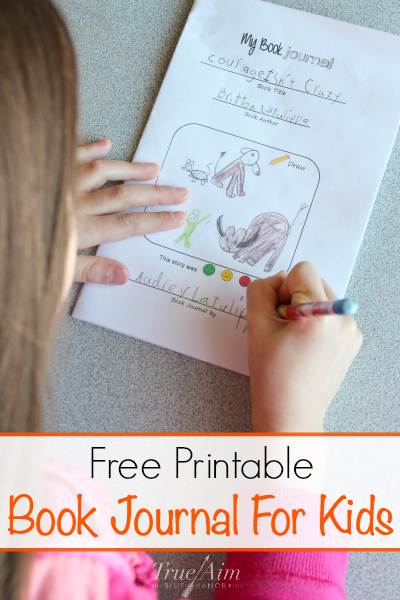 free printable book journal for kids - Free Printable Books For Kids