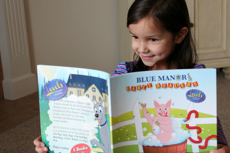 blue manor phonics early readers