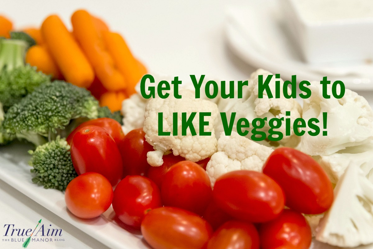how to get your kids to like veggies