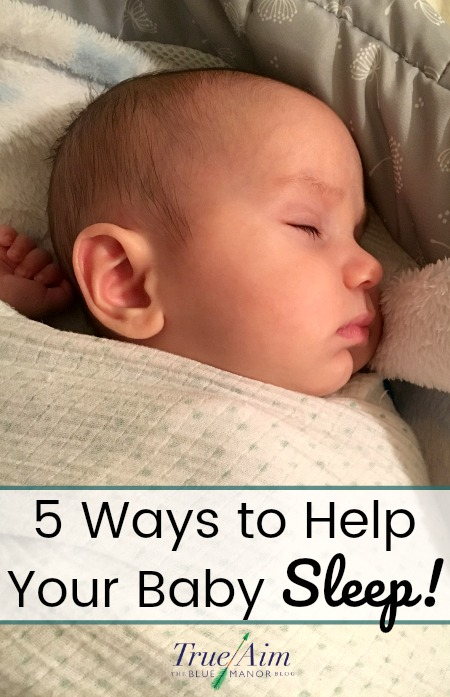 help your baby sleep through the night
