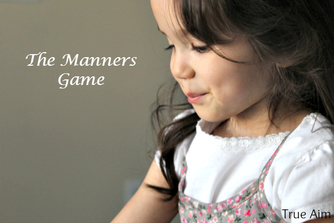 the table manners game