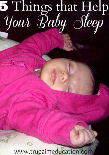 5 things that help baby sleep