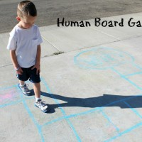 Educational Carnival Games: Human Board Game