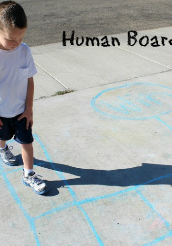Educational Carnival Games: Human Board Game