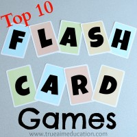 Top 10 Flash Card Games and DIY Flash Cards