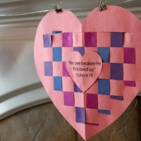 Valentines Day Bible Craft