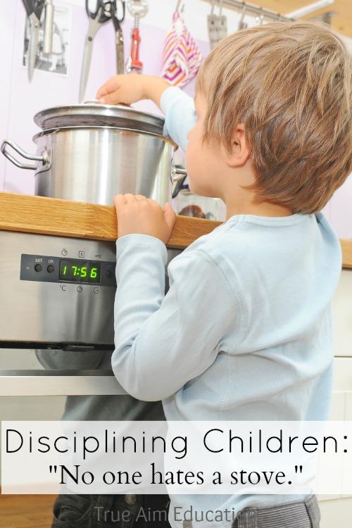 disciplining children