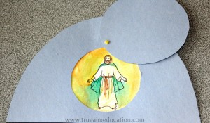 Easter resurrection craft for kids