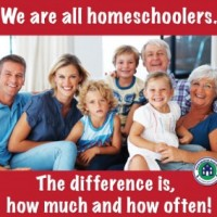 We are all Homeschoolers!