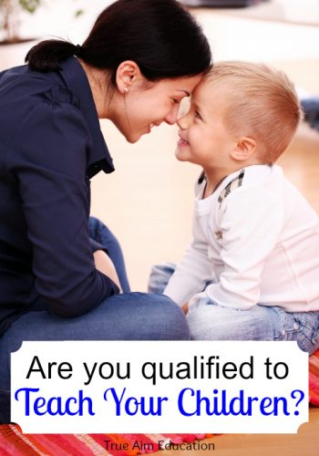 Are you qualified to teach your children?