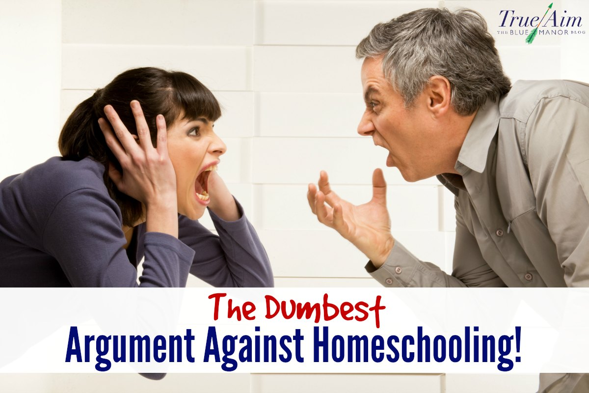 Dumbest argument against homeschooling