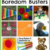 10 Boredom Busters and Mom's Library #46