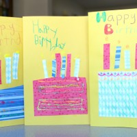 Handmade Birthday Cards for Kids!