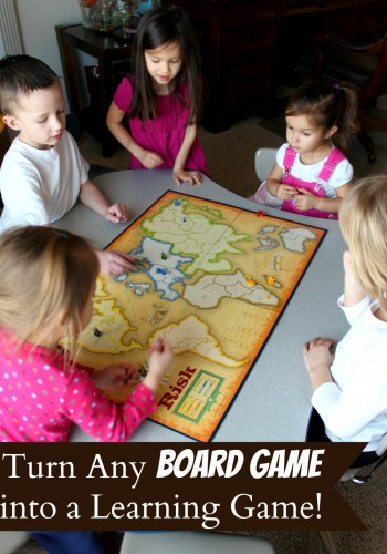 Turn Any Board Game into a Learning Game