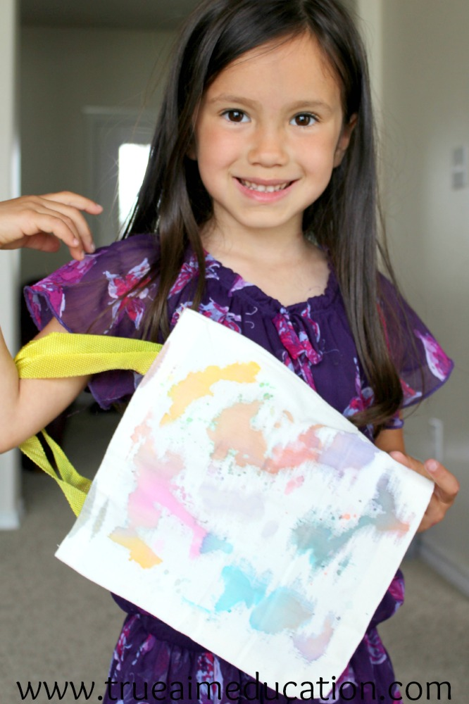 color crafts tie-dye bag finish kiwi crate