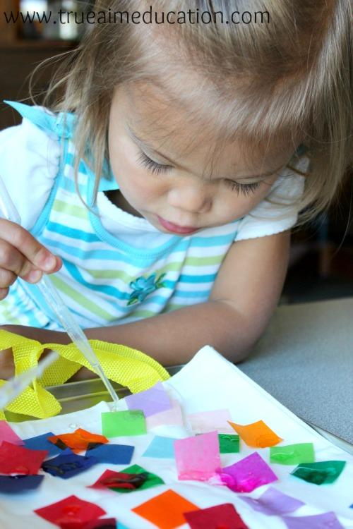 color crafts tie-dye kiwi crate