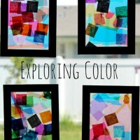 Easy Crafts for Kids: Exploring Color with Kiwi Crate
