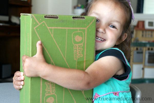 color crafts kiwi crate box