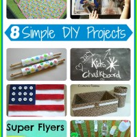8 Simple DIY Projects and Mom's Library #49