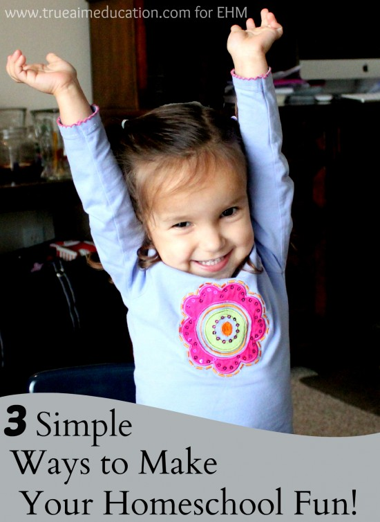 3 simple ways to make your homeschool fun