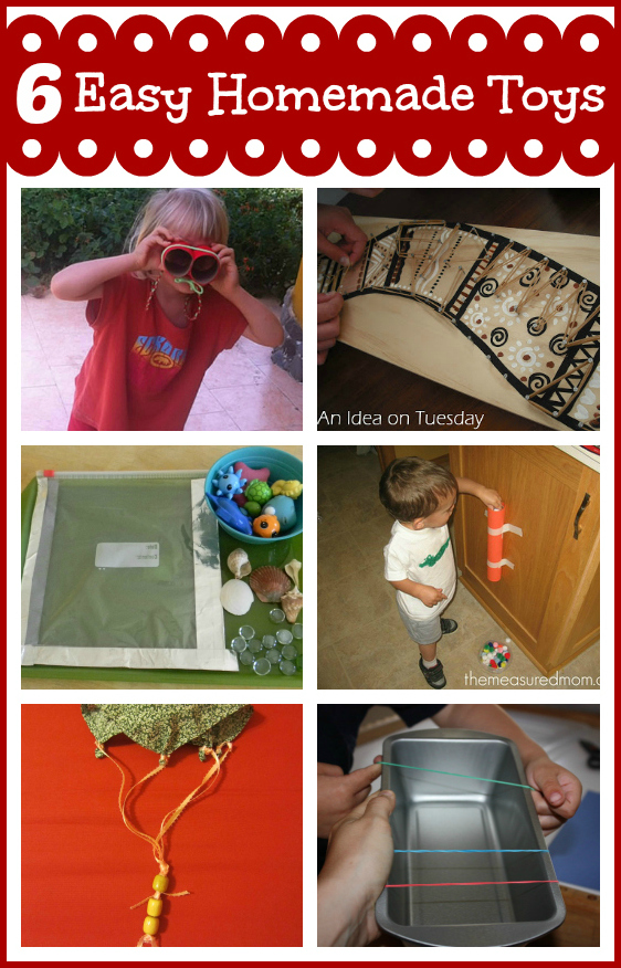 6 Diy Toys For Young Children And Mom S Library 53 True Aim