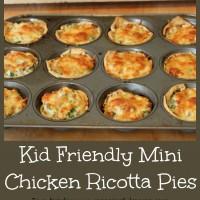 Kid Friendly Chicken Ricotta Pies Recipe