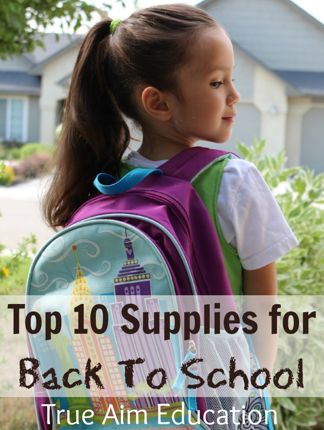 back to school shopping student supply list