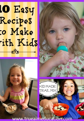 10 Recipes to Make with Kids and Mom's Library #52