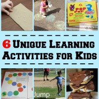 6 Unique Learning Activities and Mom's Library #55
