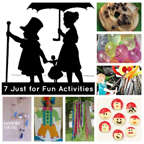 fun activities for kids just for fun