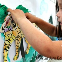 Animal Craft: Habitat Mural for Kids – Summer Camp at Home
