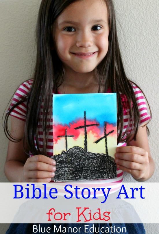 bible-story-art-for-kids-cross