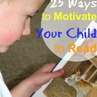 25 Ways to Motivate Your Kids to Read and Mom's Library #57