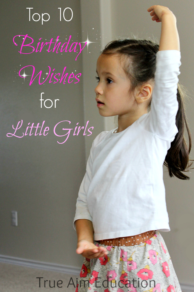 10 birthday wishes for little girls #shop
