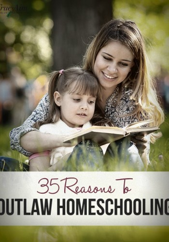 35 Reasons to OUTLAW Homeschooling!