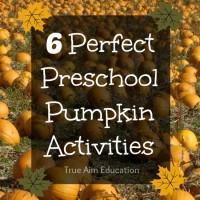 6 Preschool Pumpkin Activities and Mom's Library #63