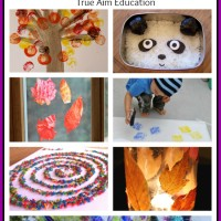 7 Easy Art Activities for Kids and Mom's Library #60