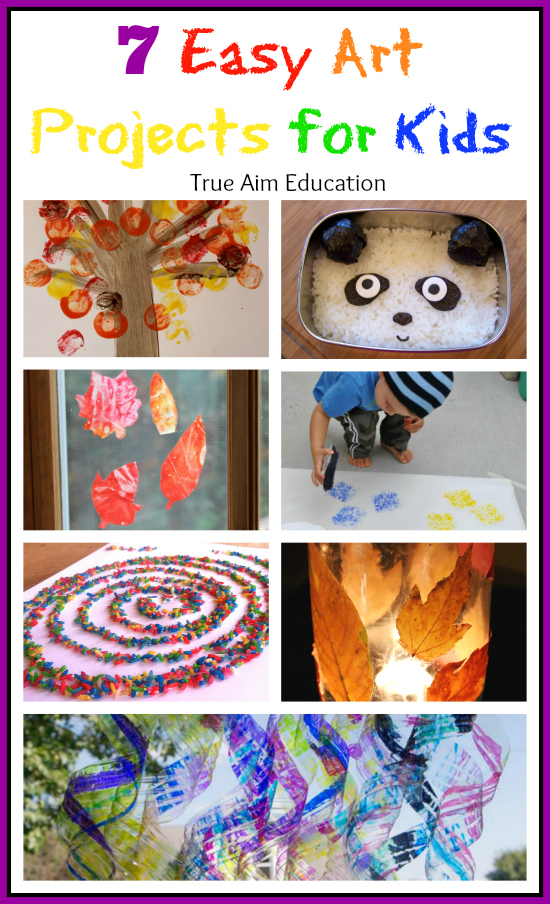 7 Easy Art Activities For Kids And Mom S Library 60 True Aim