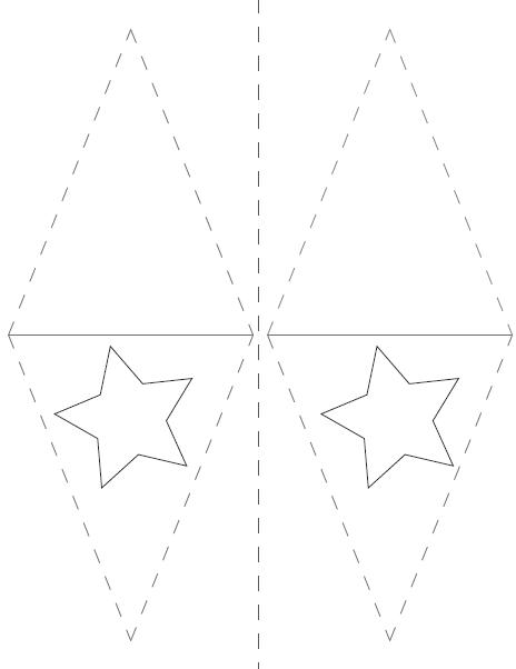 Free carnival party flag printables