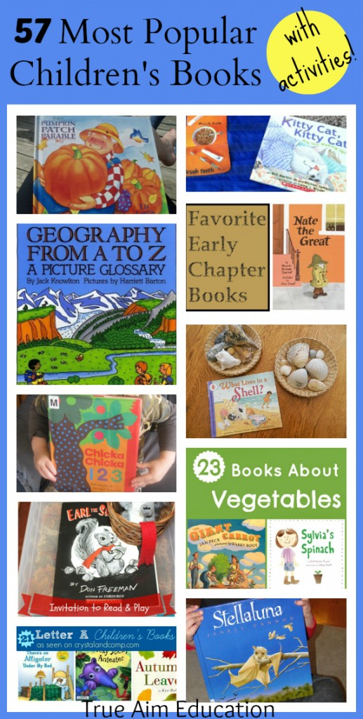 Popular Children S Books And Mom S Library 61 True Aim