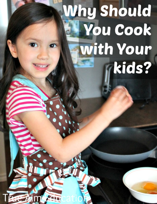 why cooking with kids