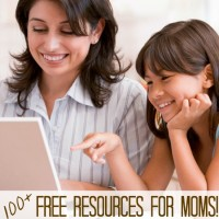 Featured Free Resources for Moms and Mom's Library #67