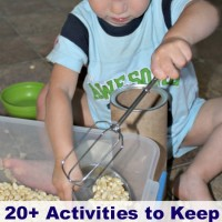 20+ Activities for Toddlers and Mom's Library #65