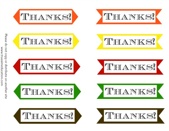 diy thank you cards printables