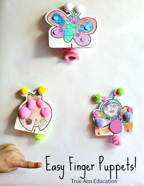 easy diy finger puppets for kids