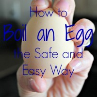 Cooking with Kids: The Best Way to Boil an Egg