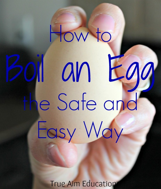 Best way to teach your kids how to boil an egg