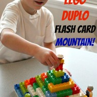 Lego Duplo Learning Game: Flash Card Mountain!