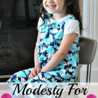 Values for Children: Modesty