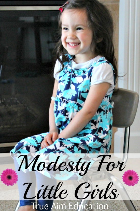 modesty for little girls